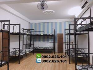 Cung cấp giường tầng sắt sinh viên giá rẻ bảo hành 1 năm