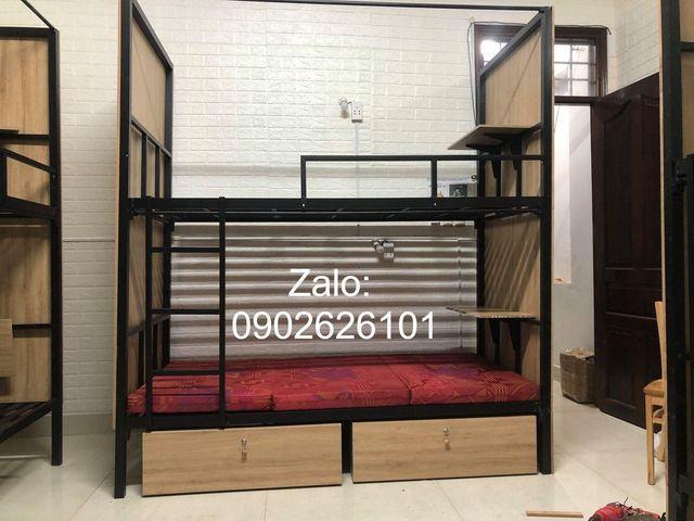 Giường tầng sắt Homestay giá rẻ tại HCM